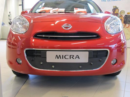 Maskisuoja Nissan Micra (2012-2013), Tammer-Suoja - Maskisuoja Nissan Micra