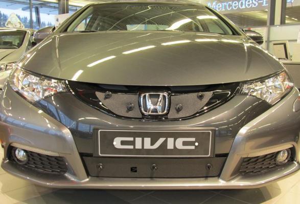 Maskisuoja Honda Civic Hybrid / Tourer ( 2012-2014), Tammer-Suoja - Maskisuoja Honda Civic Hybrid / Tourer