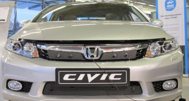 Maskisuoja Honda Civic Sedan (2012-2014), Tammer-Suoja - Maskisuoja Honda Civic Sedan