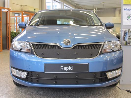 Maskisuoja Skoda Rapid (2013->), Tammer-Suoja - Maskisuoja Skoda Rapid