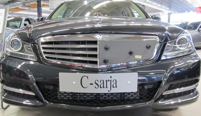 Maskisuoja Mercedes-Benz C-sarja (W204), vm. 2011-2013, Tammer-Suoja - Maskisuoja Mercedes-Benz C-sarja (W204)