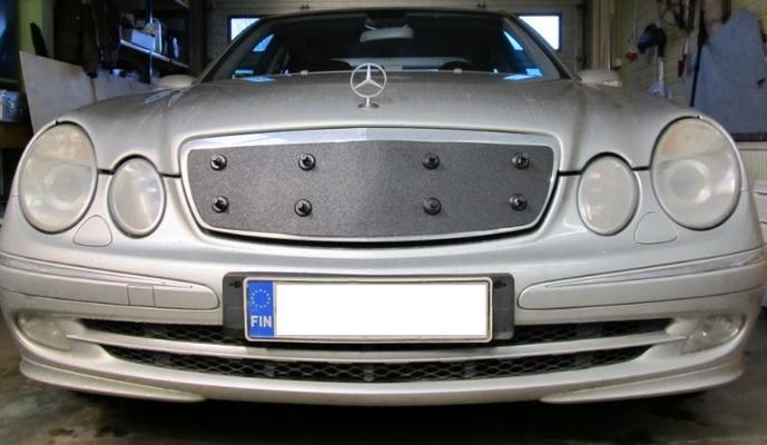 Maskisuoja Mercedes-Benz E-sarja (W211), vm. 2002-2009, Tammer-Suoja - Maskisuoja Mercedes-Benz W211