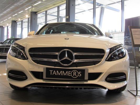 Maskisuoja Mercedes-Benz C-sarja (W205), vm. 2014->, Tammer-Suoja - Maskisuoja Mercedes-Benz C-sarja (W205)