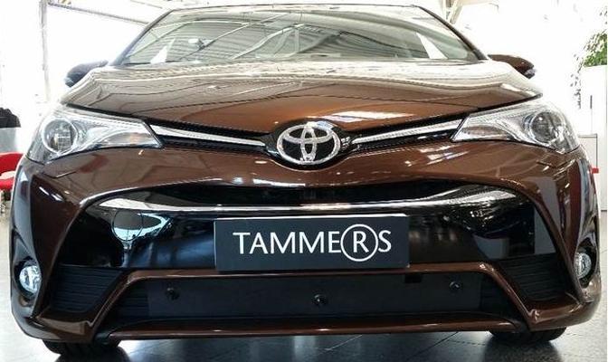 Maskisuoja Toyota Avensis (7/2015->), Tammer-Suoja - Maskisuoja Toyota Avensis