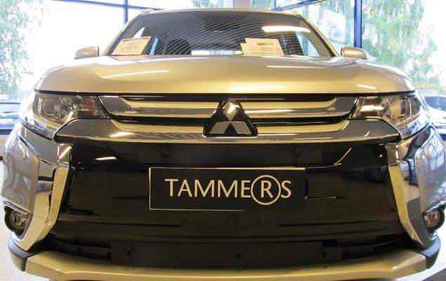 Maskisuoja Mitsubishi Outlander (2016->), Tammer-Suoja - Maskisuoja Mitsubishi Outlander