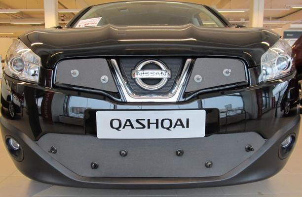 Maskisuoja Nissan Qashqai / Qashqai +2 (2011-2013), Tammer-Suoja - Maskisuoja Nissan Qashqai / Qashqai +2 (vm. 2011-2013)