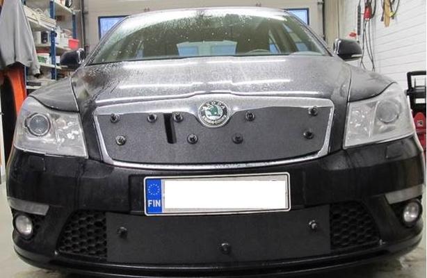 Maskisuoja Skoda Octavia RS (2010-2012), Tammer-Suoja - Maskisuoja Skoda Octavia RS