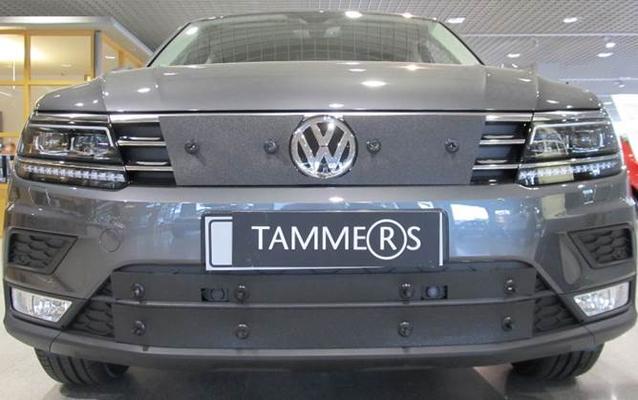 Maskisuoja Volkswagen Tiguan (2016->), Tammer-Suoja - Maskisuoja Volkswagen Tiguan