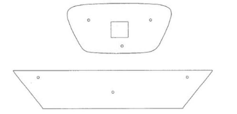 Maskisuoja Seat Altea/ Altea XL (2010->), Tammer-Suoja - Maskisuoja Seat Altea XL