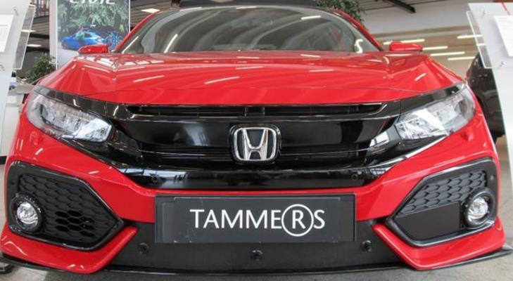 Maskisuoja Honda Civic Sport / Hybrid (2017->), Tammer-Suoja - Maskisuoja Honda Civic Sport / Hybrid
