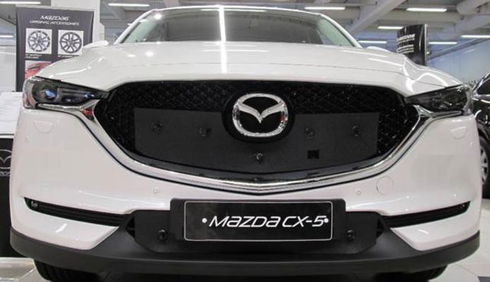 Maskisuoja Mazda CX-5 (2018->), Tammer-Suoja - Maskisuoja Mazda CX-5 (vm. 2018->)