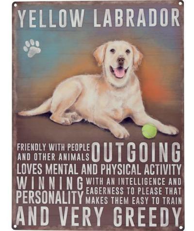 "Kyltti ""Yellow Labrador"" - Kyltti ""Yellow Labrador"""