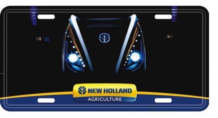 Kyltti New Holland-logolla (loistaa pimeässä) - Kyltti New Holland-logolla (loistaa pimeässä)