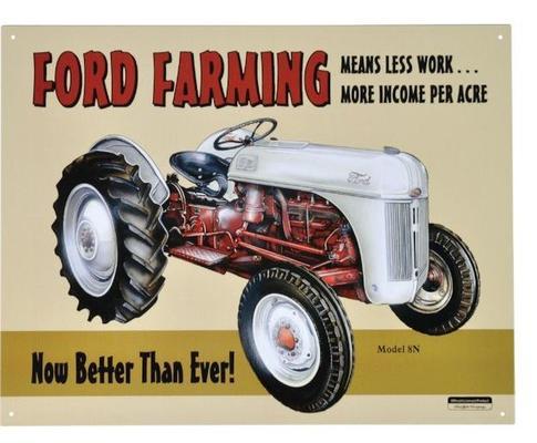 """Kyltti """"Ford farming"""" - Kyltti """"Ford farming"""""""