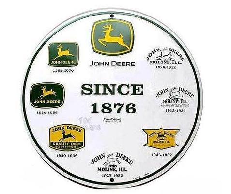Kyltti John Deere-logolla - Kyltti John Deere-logo
