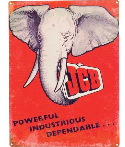 "Kyltti ""JCP elephant"" - Kyltti ""JCP elephant"""
