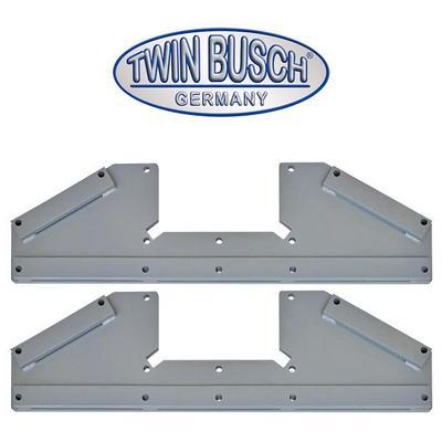Lisäjalat ohuille betonivaluille, Twin Busch