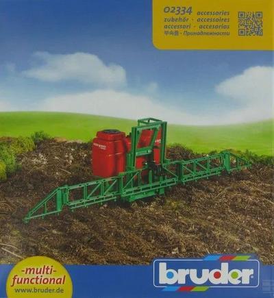Lelu kasvinsuojeluruisku traktoriin (1:16), Bruder