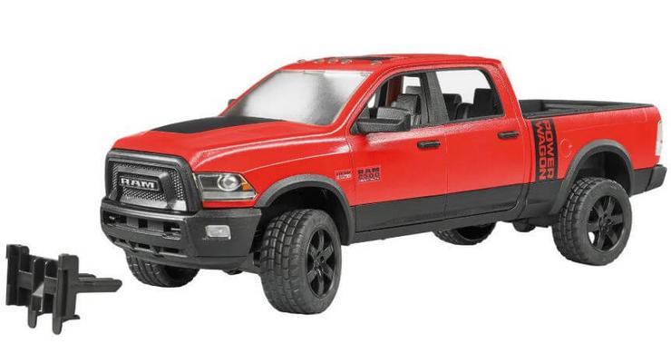 Lelu Lava-auto Dodge RAM 2500 (1:16), Bruder