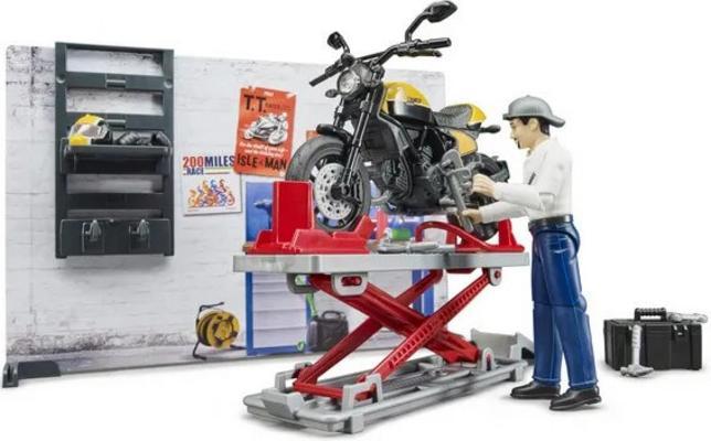Lelu moottoripyöräkorjaamo ja Ducati (1:16), Bruder