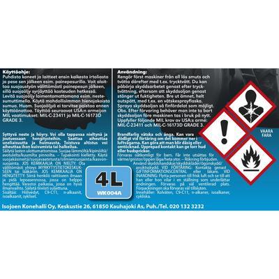 Kone- ja laitesuojaöljy 4 l, Viima - Kone- ja laitesuojaöljy 4 l