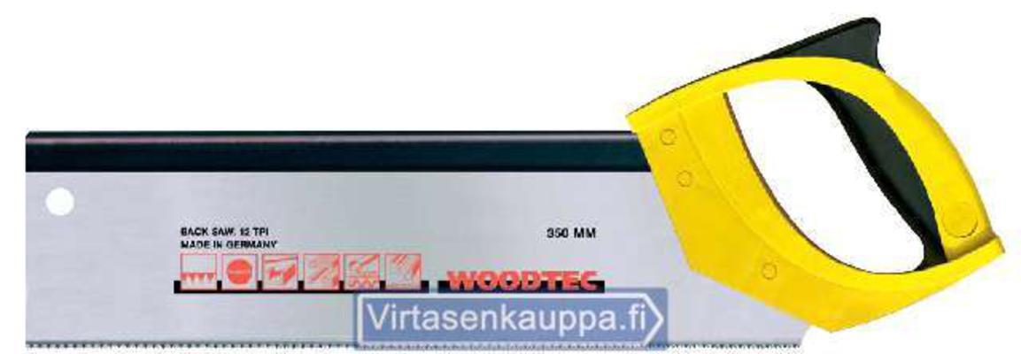 SELKÄSAHA 350MM 12/ WOODTEC