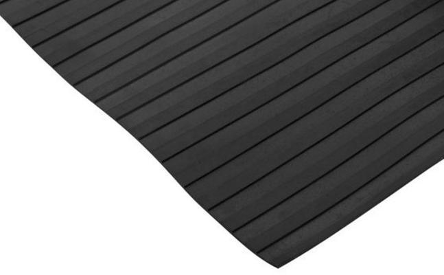 Musta kumimatto (leveärihlainen) - Musta kumimatto (leveärihlainen) 1300 x 3,5 mm