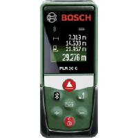 Laseretäisyysmittalaite, Bosch - PLR30C mittaus 0.05 - 30 m