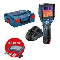 Lämpökamera GTC 400 C + akkuruuvinväännin GSR 12V-15, Bosch