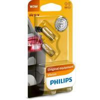 Polttimopari, W3W, 12 V , Philips