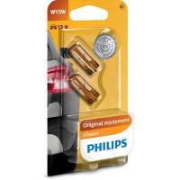 Polttimopari, WY5W, 12 V, Philips