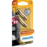 Polttimopari, C5W, 12 V, Philips