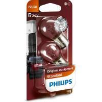 Polttimopari, P21/5W, 24 V, Philips