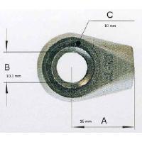 Silmukkapää kaasujouseen, reikä 10.1 mm - AL-KO