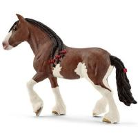 Clydesdalen hevonen tamma, Schleich