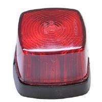 Takaäärivalo, punainen Squarepoint - Aspöck