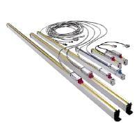 Työkalujyrsin Luna MM 3001 - tarvike: lineaarimittaus, viivoitin, 400 mm