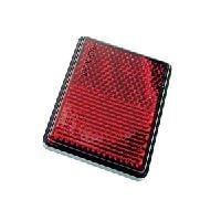 Radex tarraheijastin punainen (203 tarrakiinnitys 62x45)