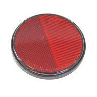Radex tarraheijastin punainen 80 mm (730 tarrakiinnitys)