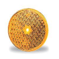 Heijastin keltainen pyöreä 60 mm Jokon (30.0003.010)