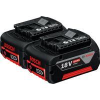 Akku 2 x GBA 18V 4,0 Ah, Bosch