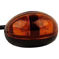 LED Äärivalo kehyksellä - oranssi - 10-30V DC, JOL