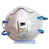 Hengityssuojain venttiilillä FFP2S, 3M