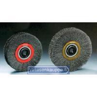 Pyöröteräsharja, 125 x 22 mm (ruostumaton) - Osborn