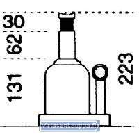 Hydraulinen pullonostin 10 t, Ondo