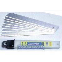 Katkoteräveitsi 9 mm + 3 varaterää, King Pro Tools - Varaterä: 9 mm hiiliterästerä 10 kpl pakkaus
