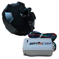 SpyCap -varashälytin kuorma-auton polttoainetankkiin