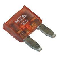 Autosulake - laattasulake (pieni), MTA - 4A, vaaleanpunainen