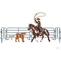 Karjapaimen lassoineen ja Quarterhevonen, Schleich