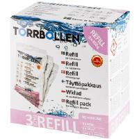 Kosteudenpoistajan täyttöpakkaus (3 kpl), Torrbollen